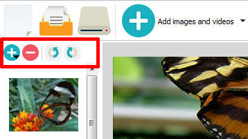 Rotate the images in jQuery slideshow