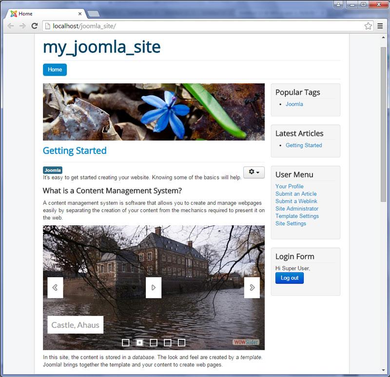 Joomla preview