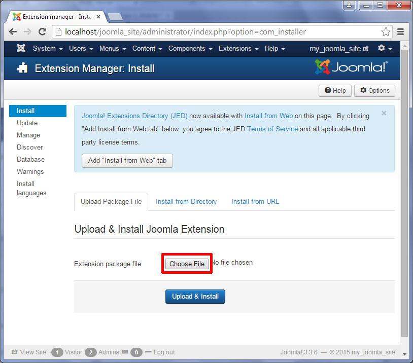 How to create a Joomla slideshow