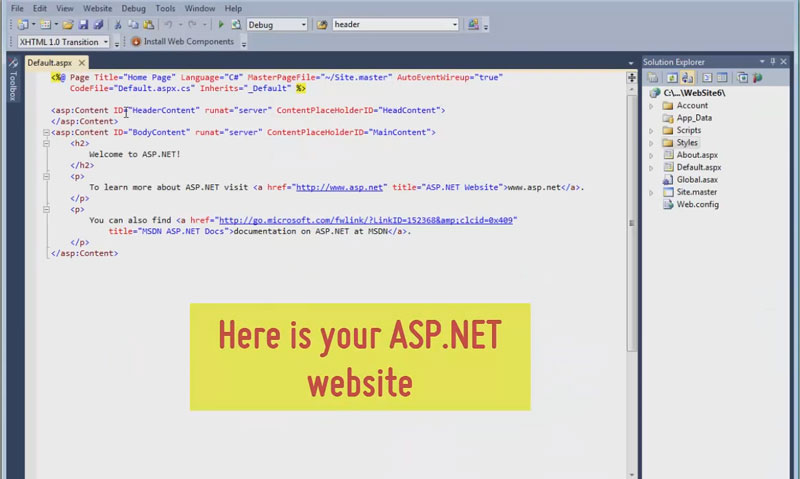 How to add WOW Slider to an ASP NET web page