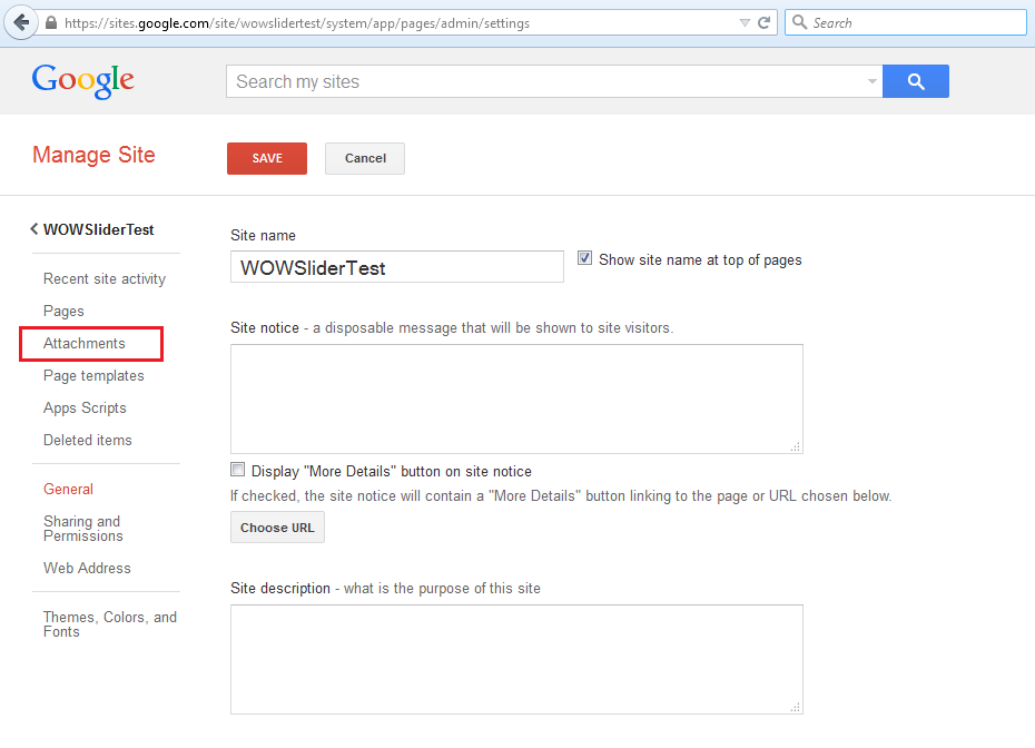 How to add a slider to Google Sites