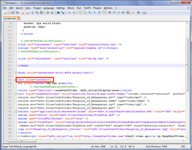 Como hacer que la presentación sea el fondo de pantalla de tu pagina