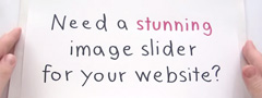 How to use images xml slider content on web design