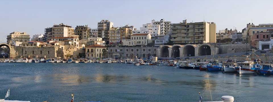 Heraklion old port : HTML5 Gallery Slider