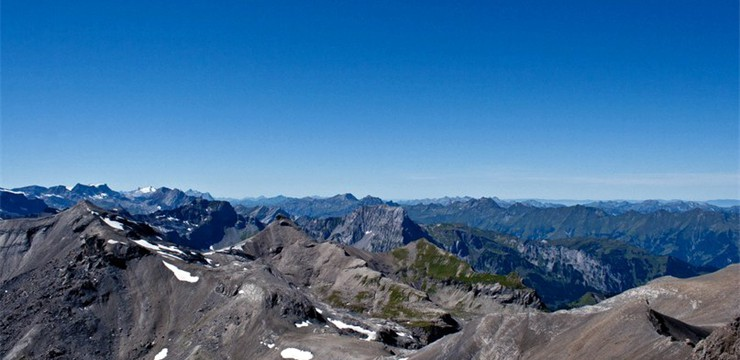 View from the Schilthorn mountain - Switzerland: scrolling jQuery gallery