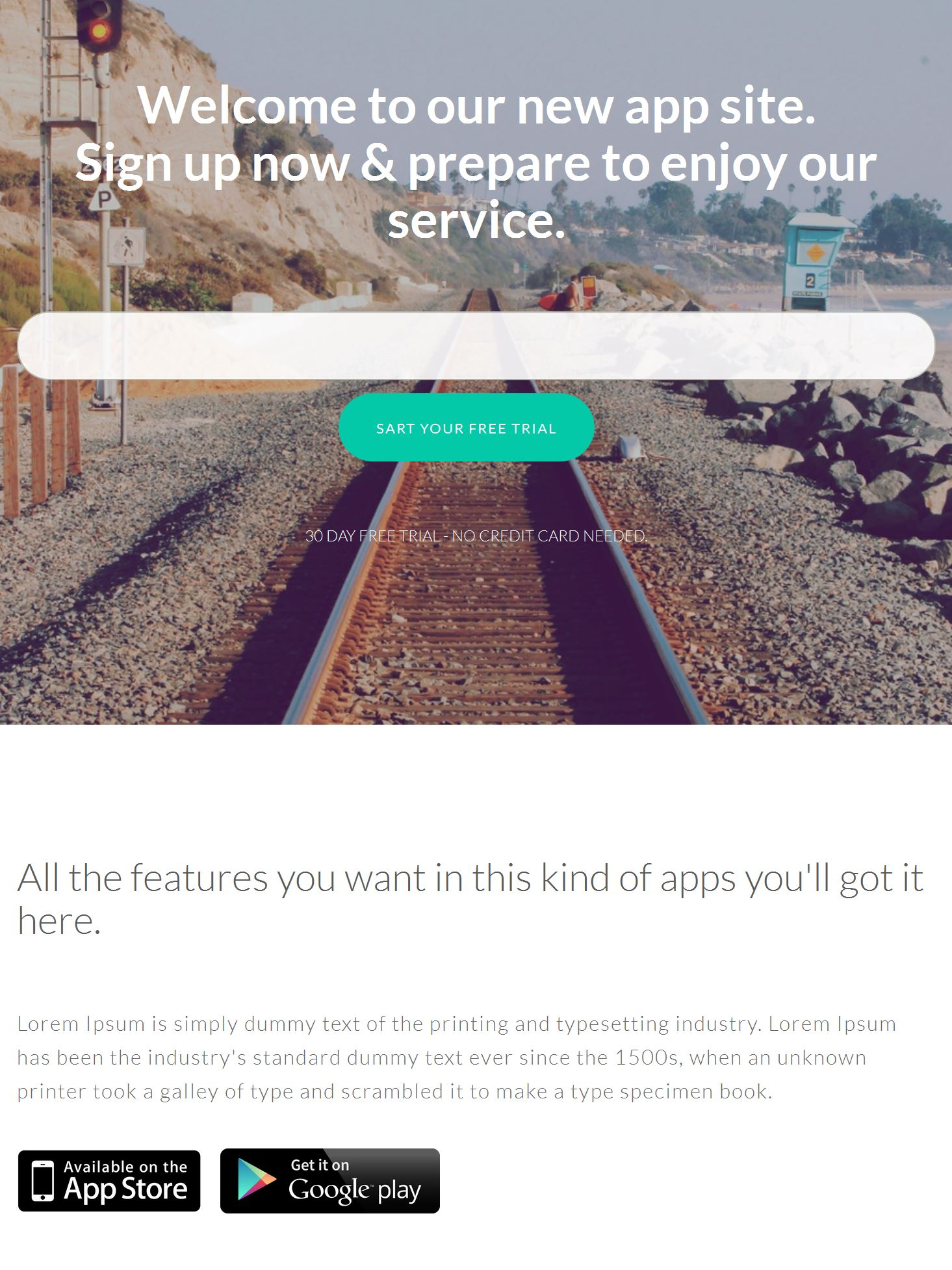 Bootstrap Template Html