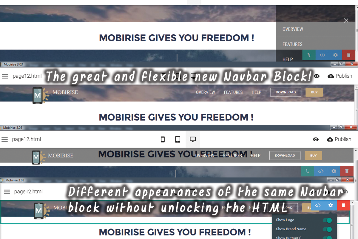 The Deeper Look Mobirise Website Designing Software Review