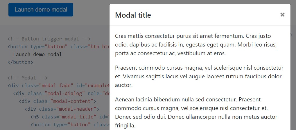 Bootstrap modal form - Bootstrap scroll to div ...