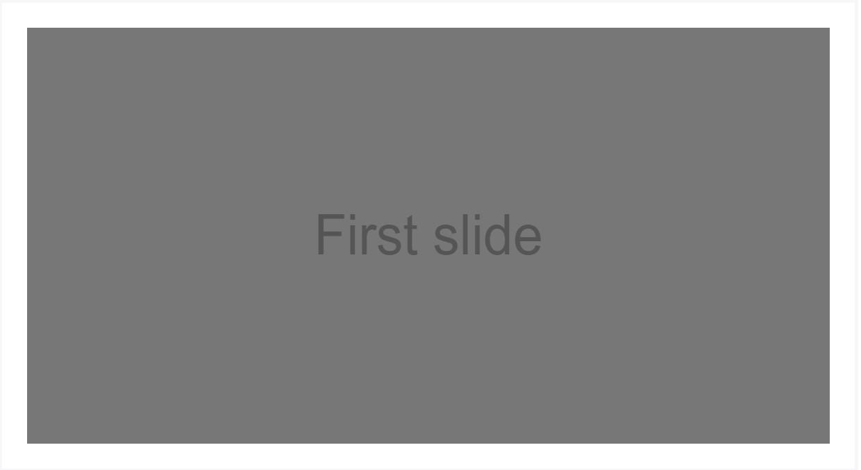 Bootstrap Carousel Slide