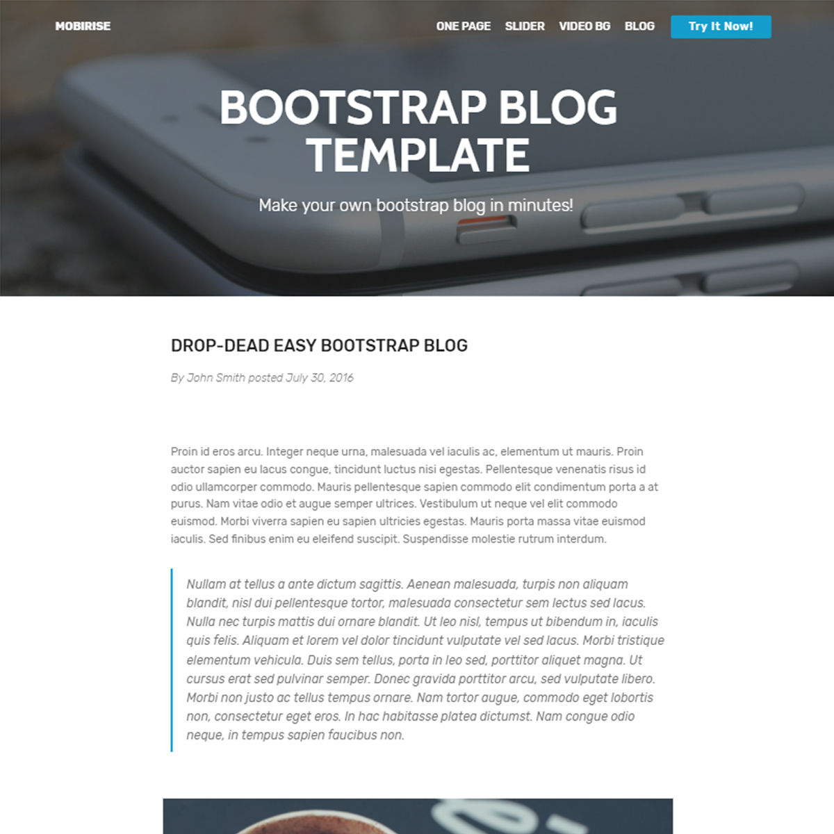 95 Free Bootstrap Themes Expected To Get In The Top In 2019