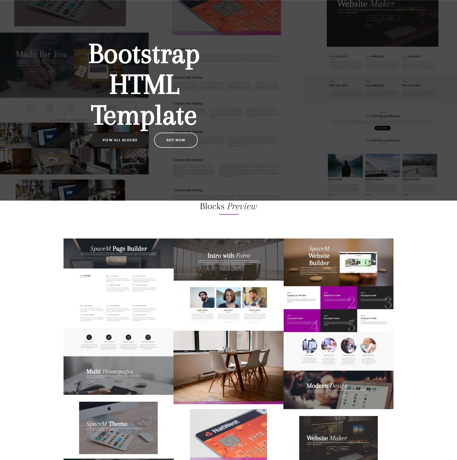 95+ Free Bootstrap Themes Expected to Get in the Top in 2018