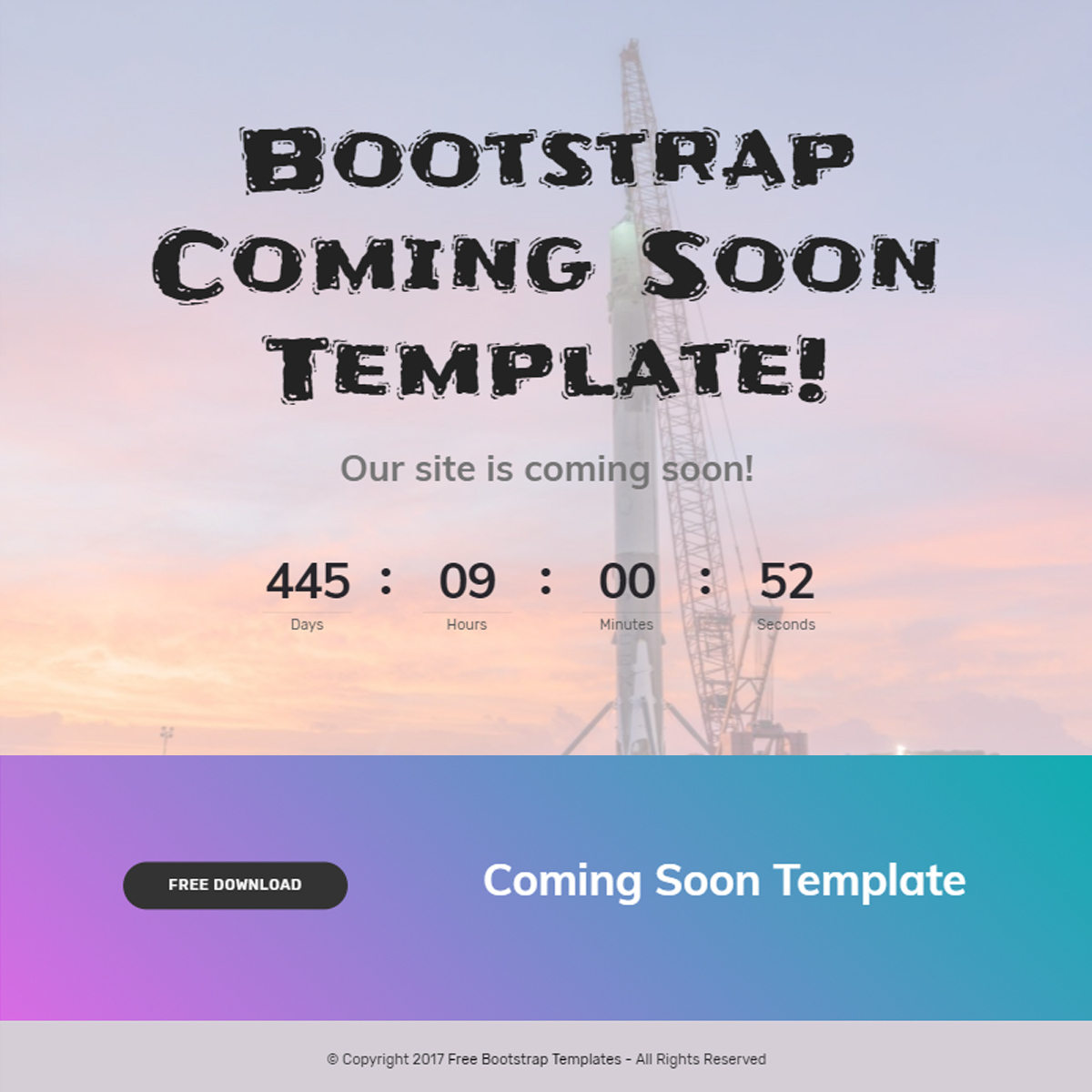 95 Free Bootstrap Themes Expected To Get In The Top In 2018