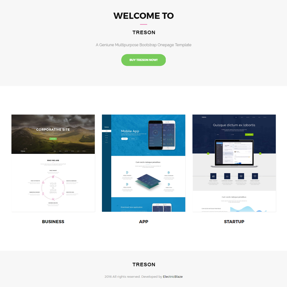 95 free bootstrap themes expected to get in the top in 2018 html5 bootstrap treson themes friedricerecipe Choice Image