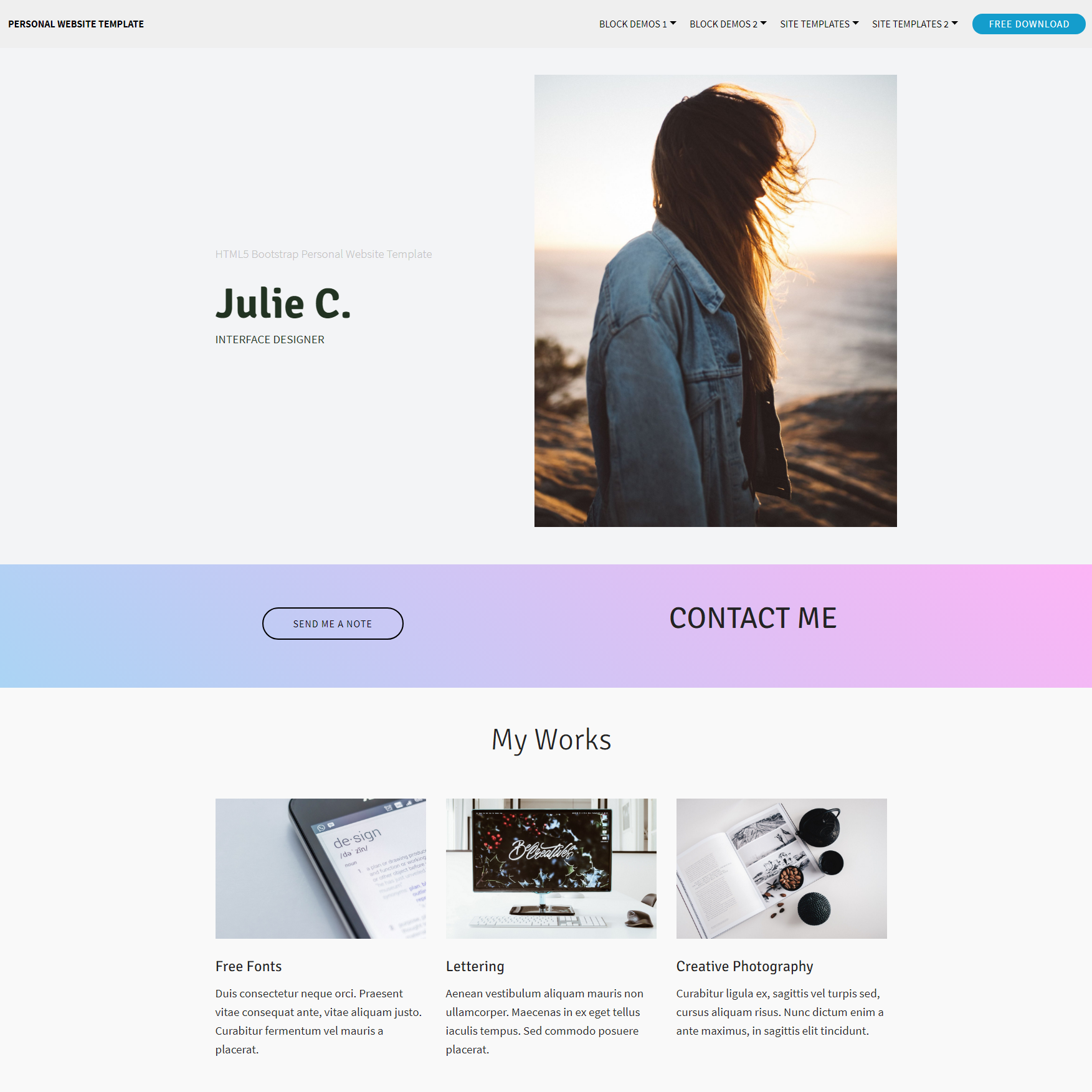95 free bootstrap themes expected to get in the top in 2018 bootstrap personal website theme css3 bootstrap personal website templates free template download maxwellsz