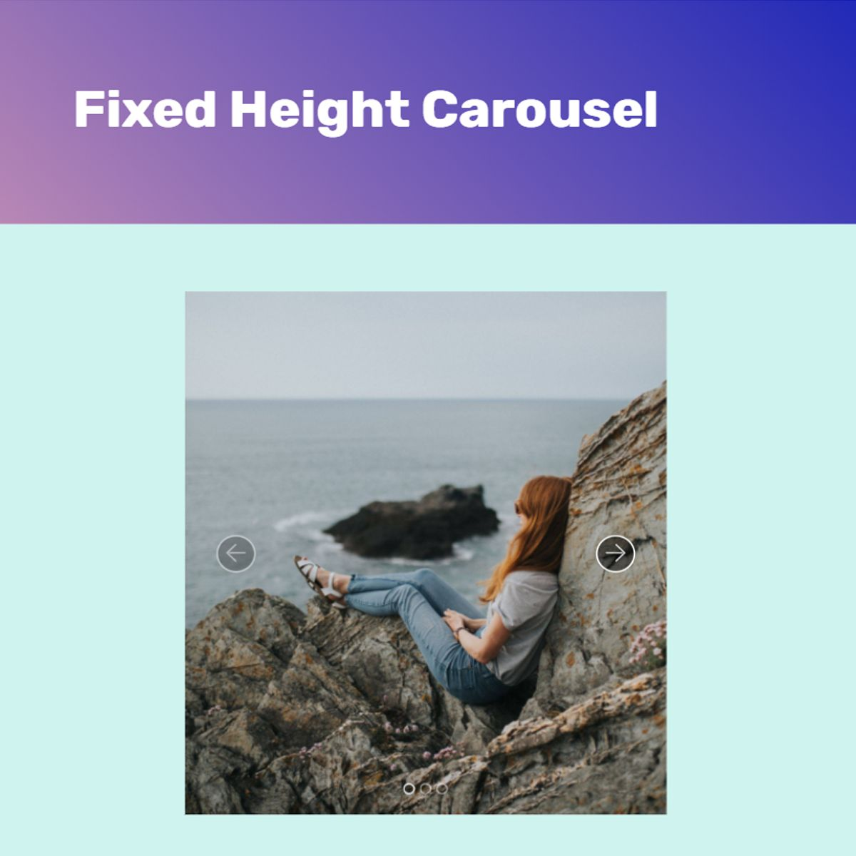 CSS3 Bootstrap Image Carousel