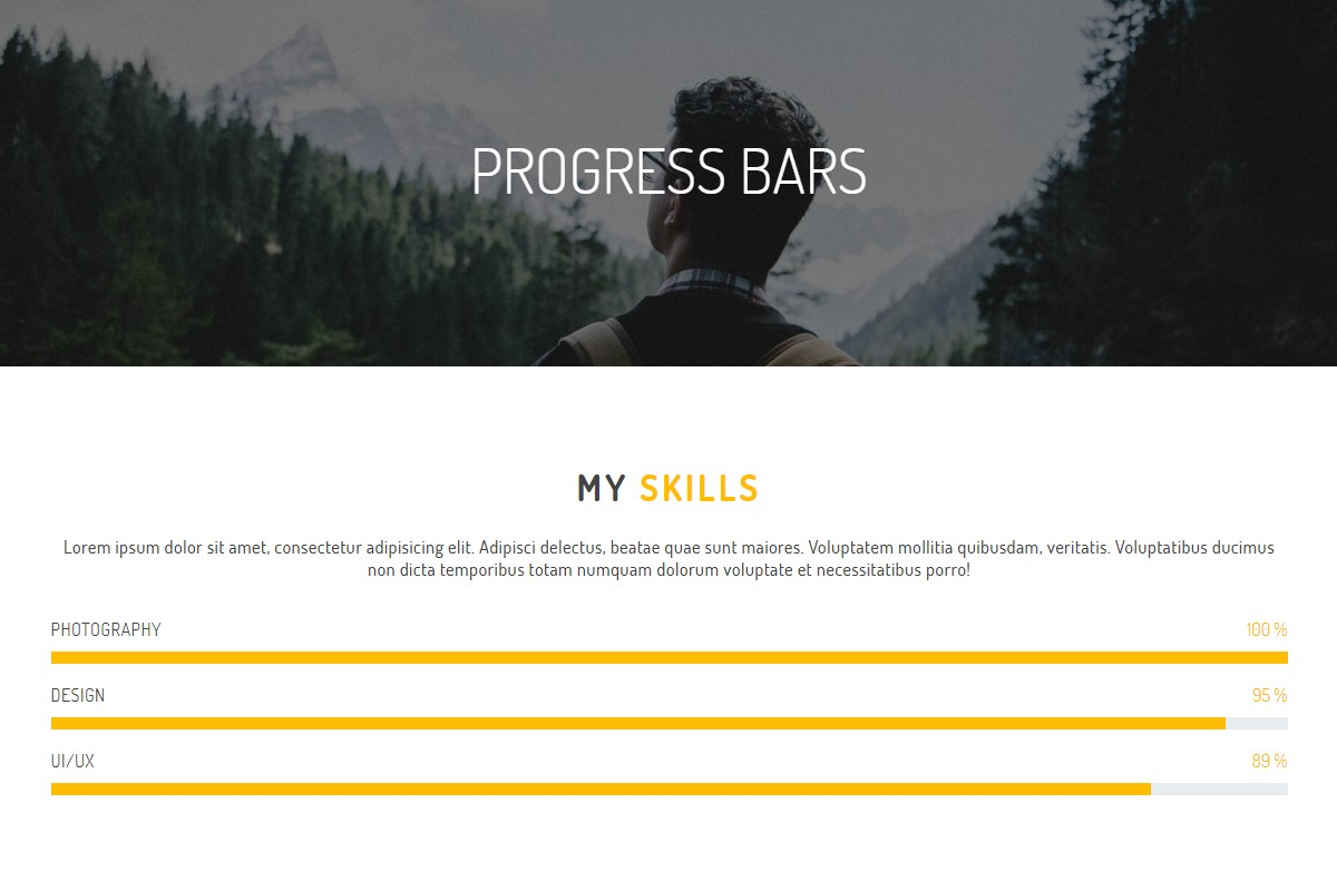 Creative Progress Bars