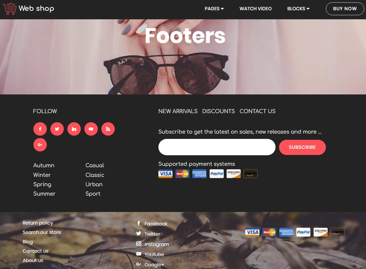 Practical Footer