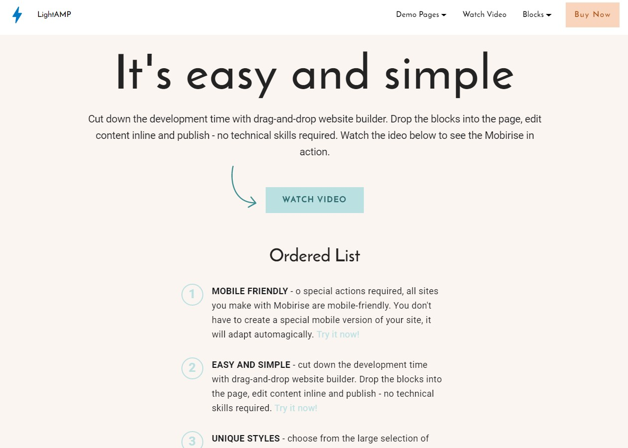 Simple HTML Templates