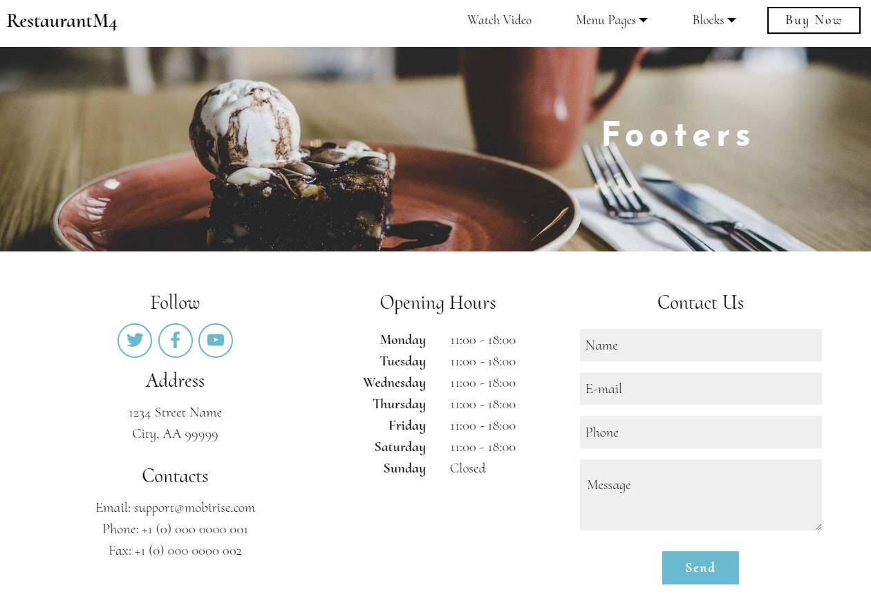 Registration Form Bootstrap Templates