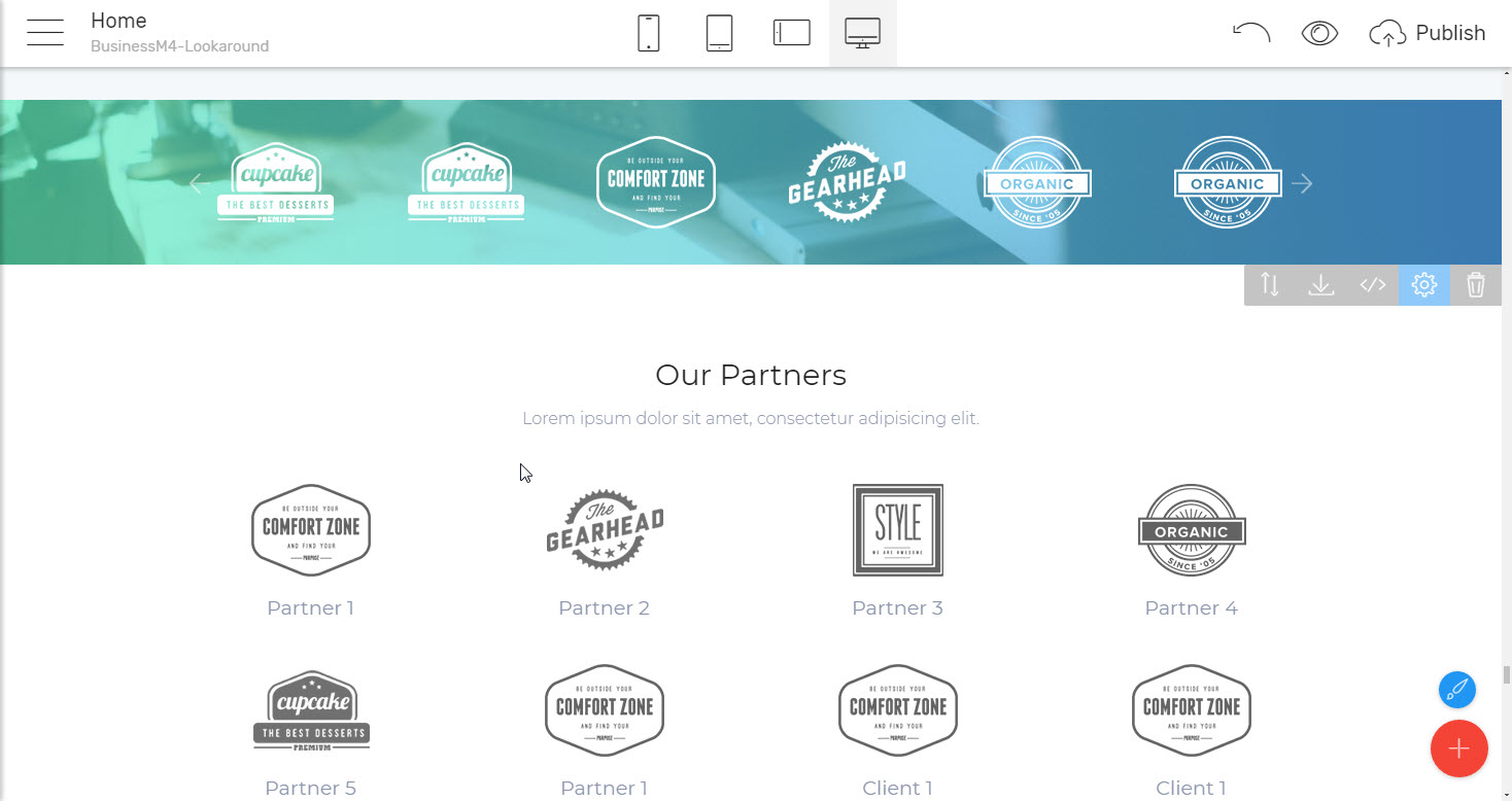 Clients and Partners Business Website Template - corporate html5 template
