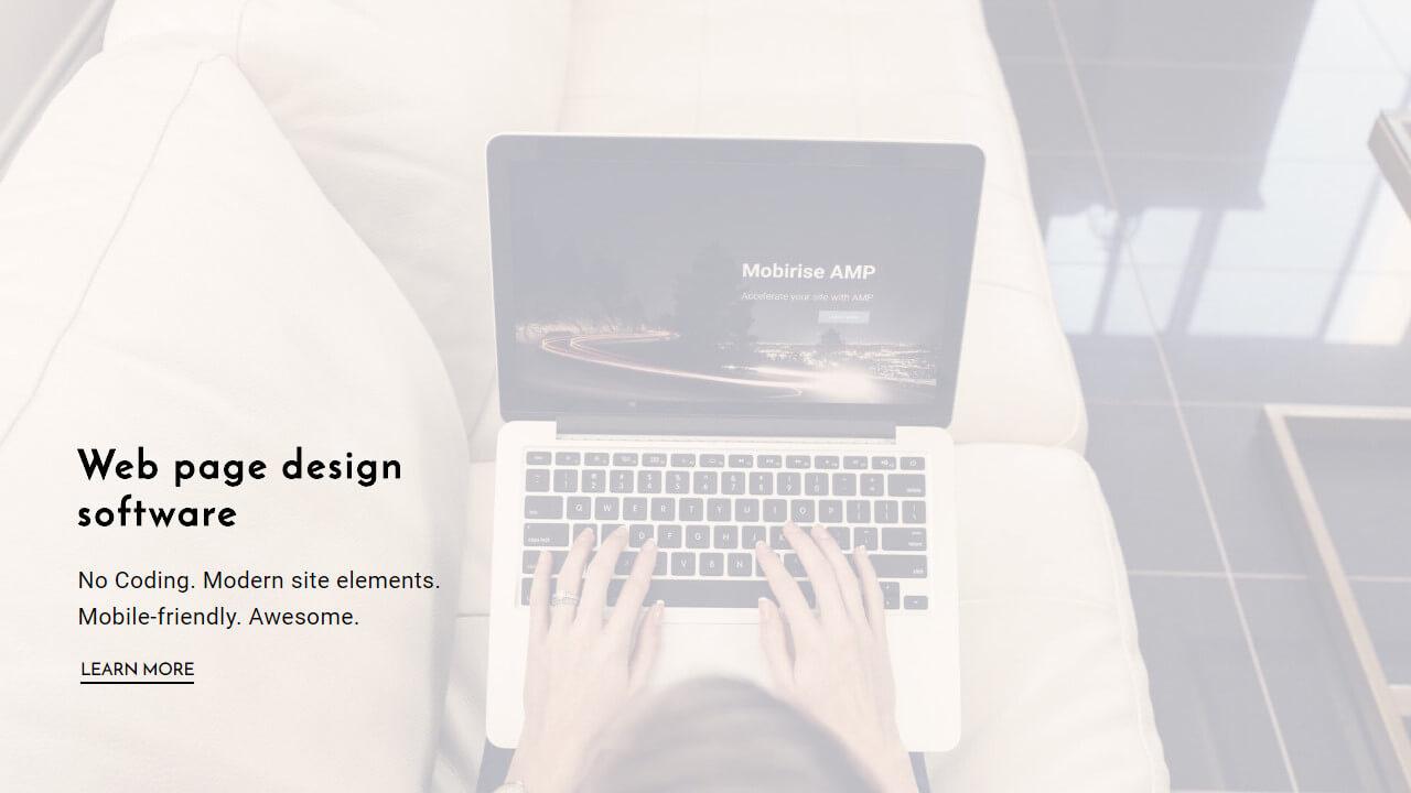 Web Page Design Software