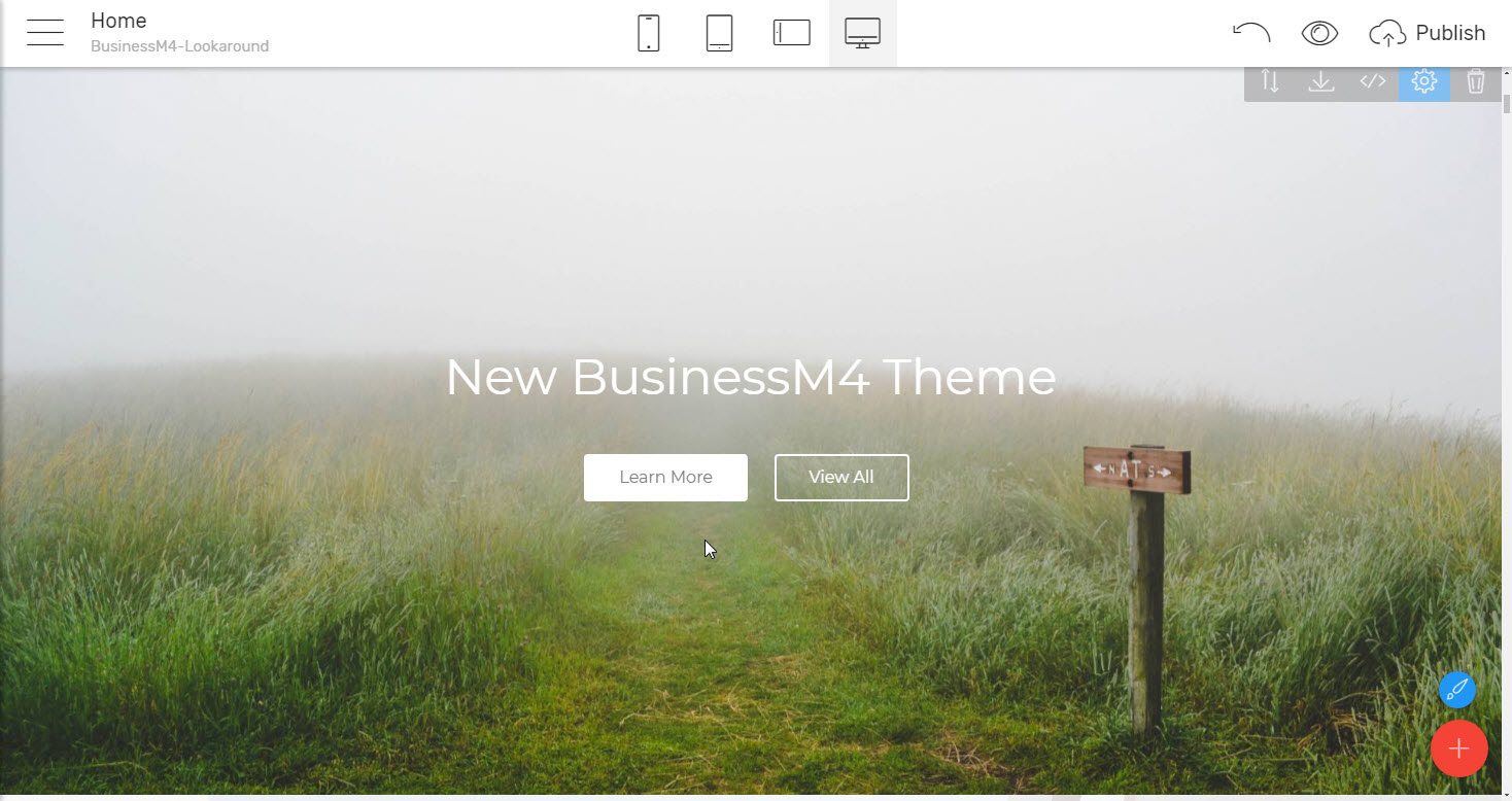 Headers Template for Business Website. Download Now - premium html theme