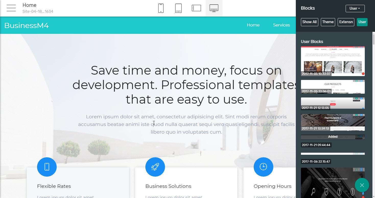 Headers Business Website Template - premium html template