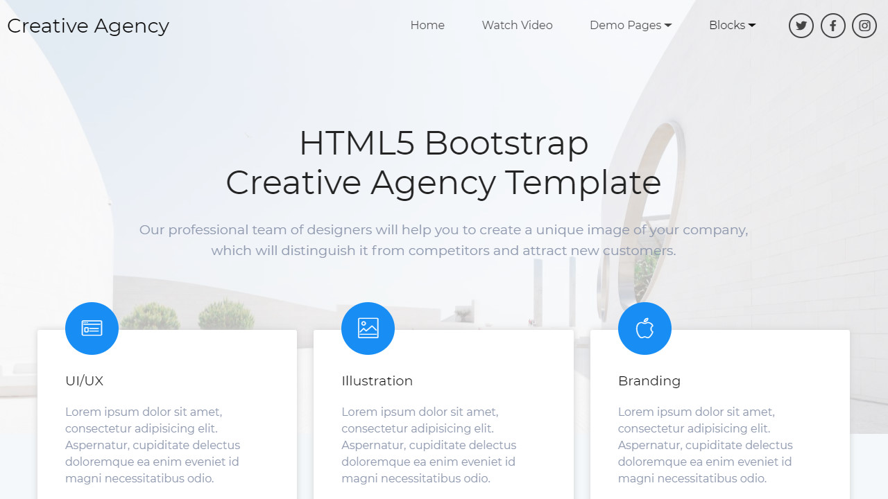 95+ Free Bootstrap Themes Expected to Get in the Top in 2019