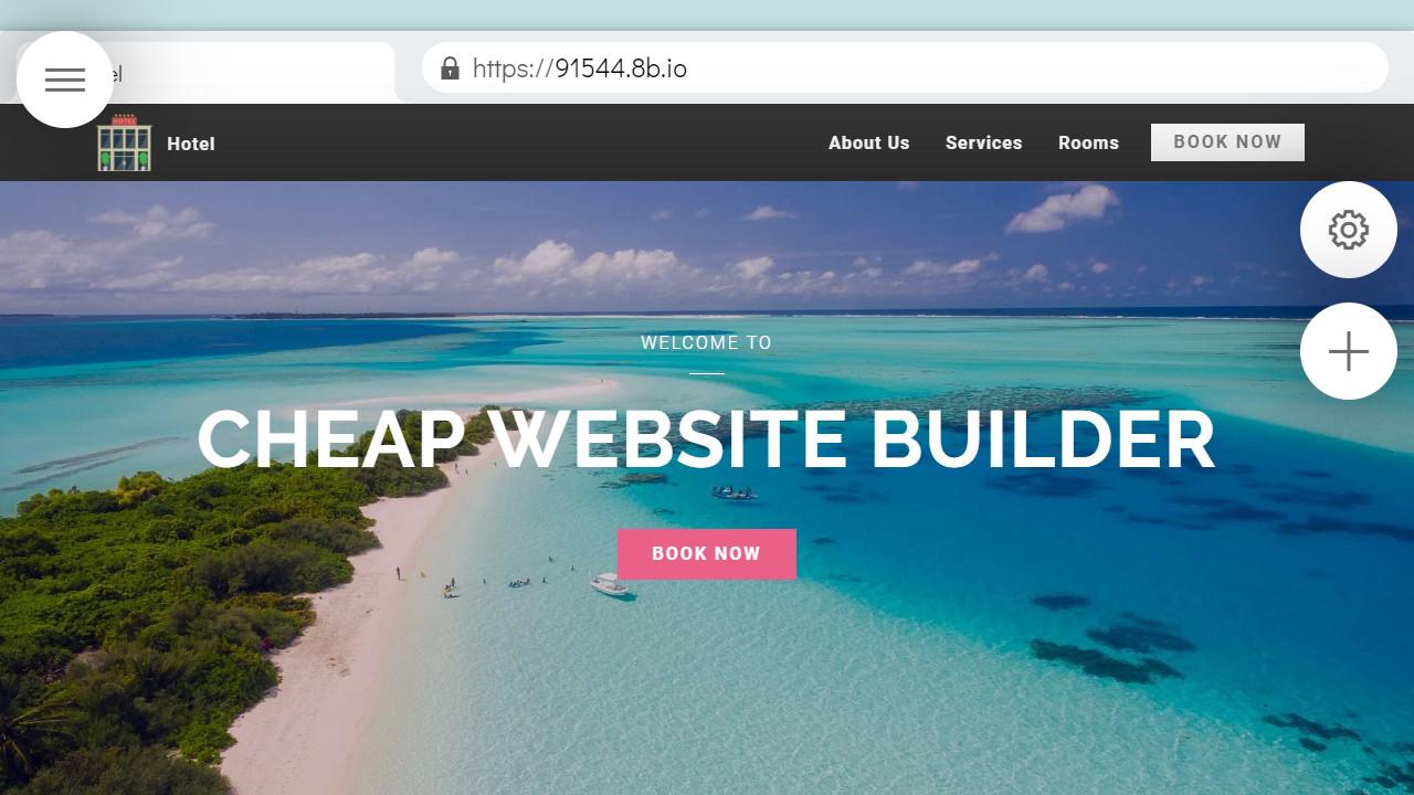 Cheap Website Builder