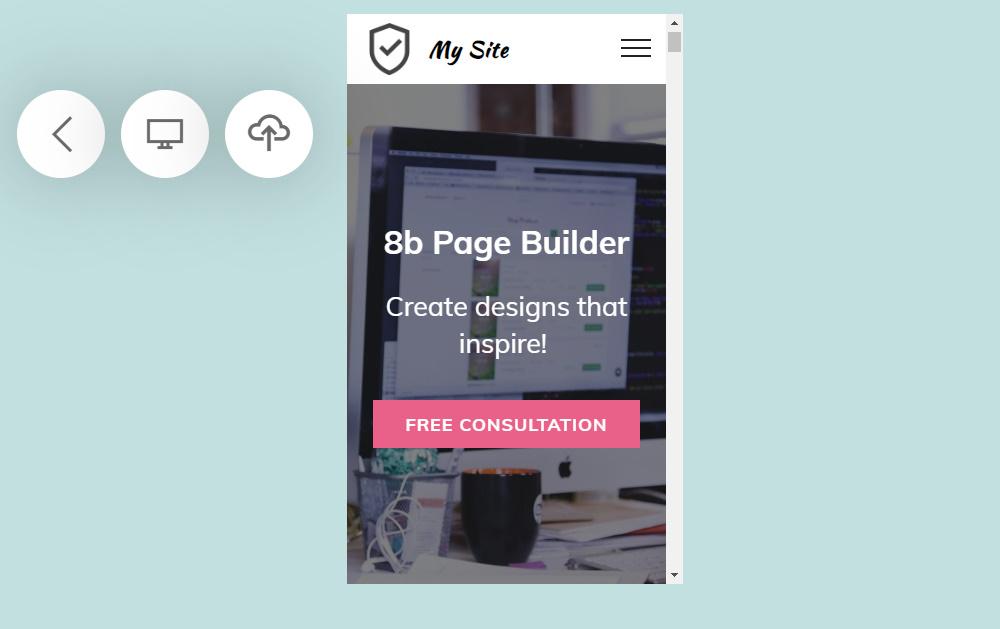 drag and drop website builder