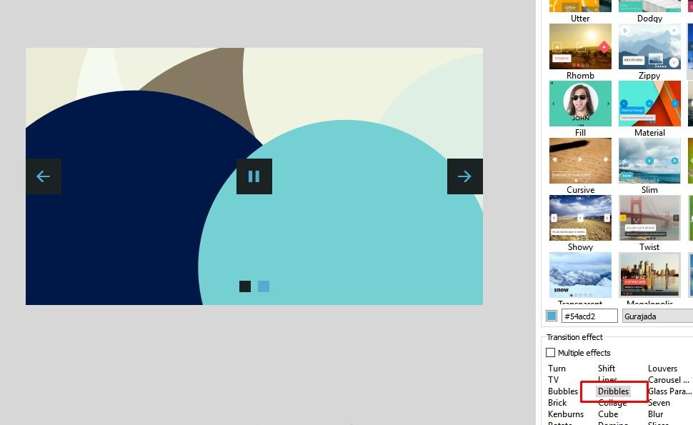jQuery CSS Image Slider