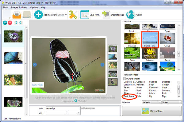 jquery image scroller plugin
