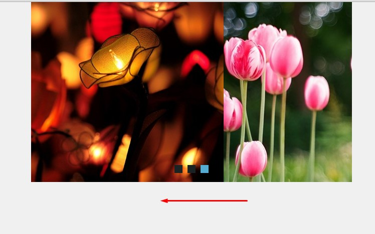 html gallery template