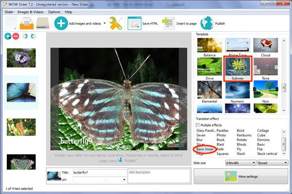 Free web photo gallery generator