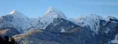 Mountains thumbnails free top bar