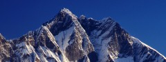 The peak of mountain Lhotse article thumbs