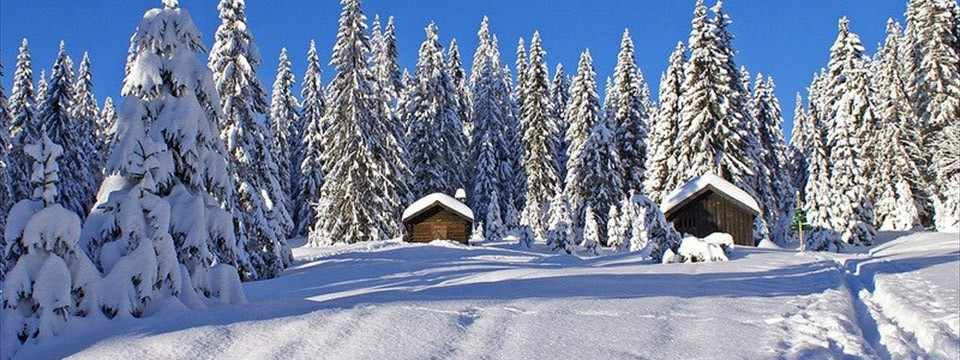 Winter slideshow image html