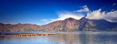 Water and mountains image slideshow html