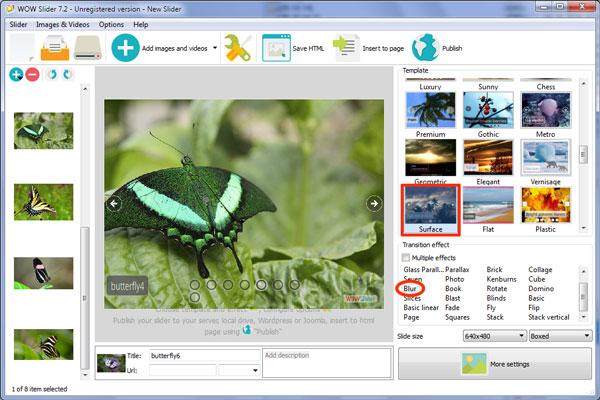 Slideshow App