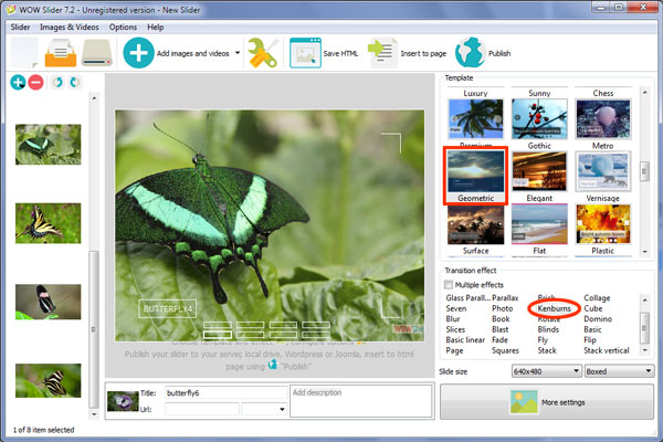 Banner maker software