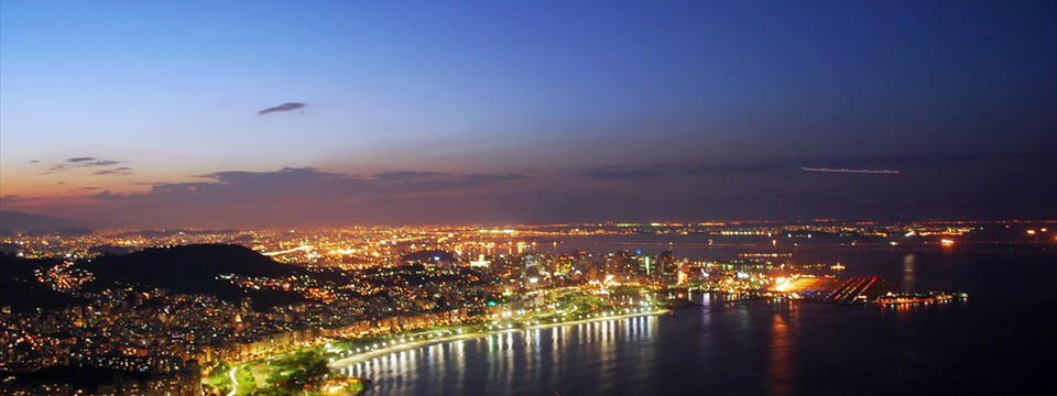 City at night slider jquery responsive