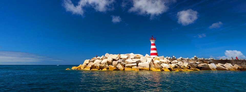 Lighthouse slideshow photo frame