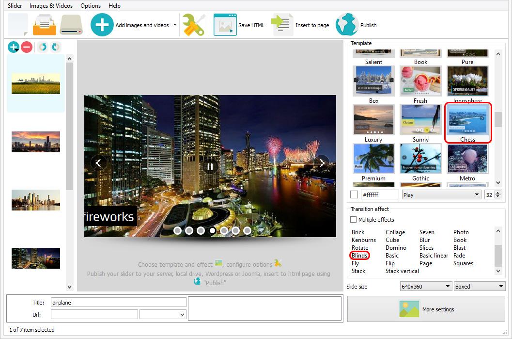 Responsive image slider jQuery free download demo