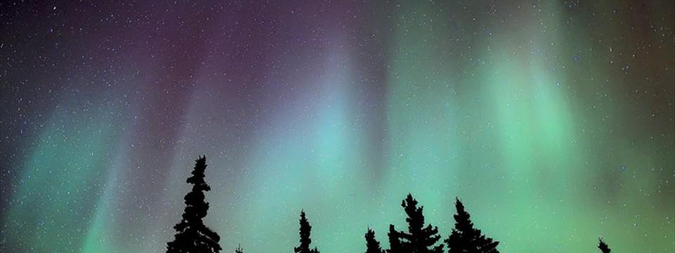 Aurora borealis: HTML5 Slideshow