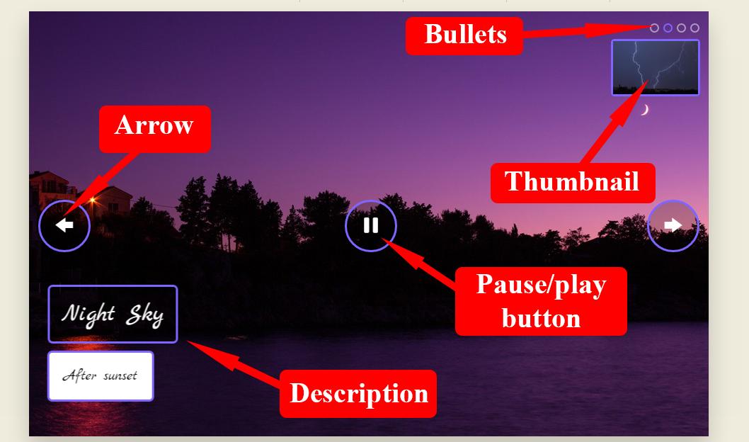 slideshow html5
