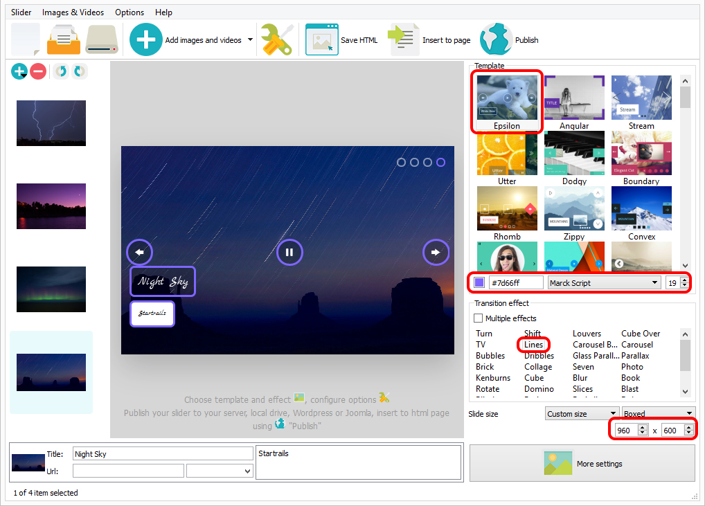 html5 slideshow template free download
