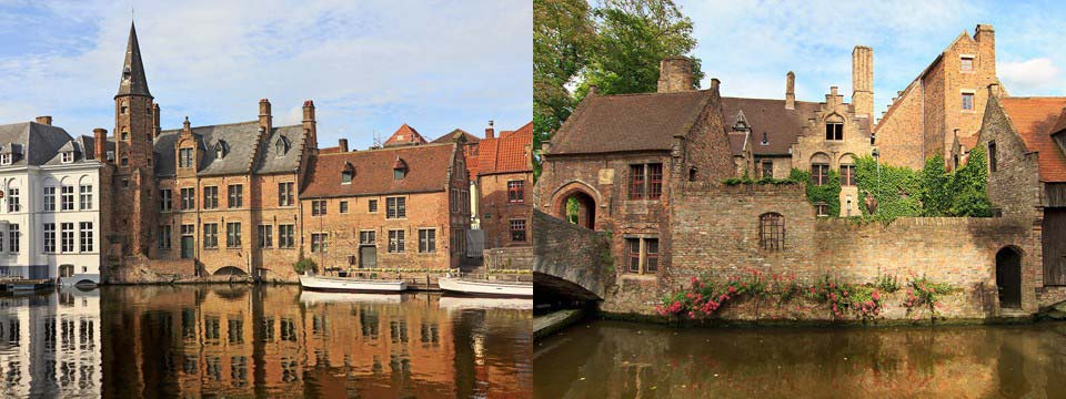 Bruges, Belgium css3 animation image slider