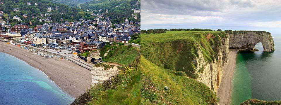 Étretat, France css image slider tutorial