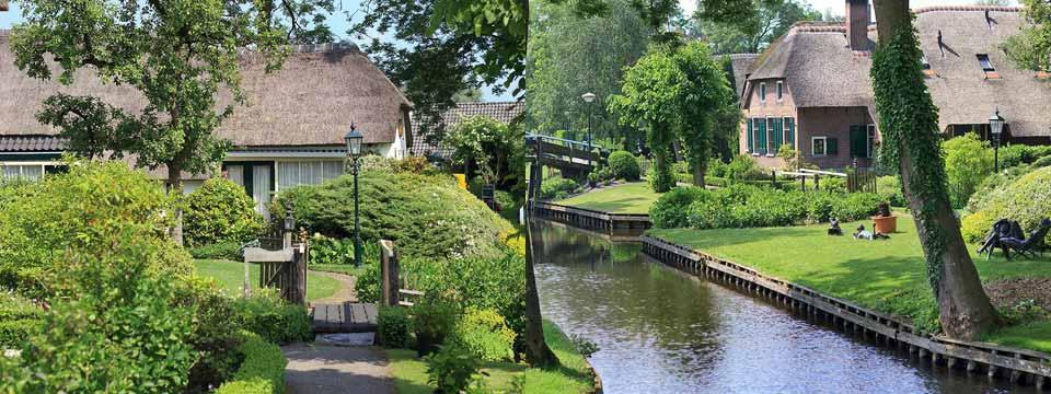 Giethoorn, the Netherlands html5 css3 image slider