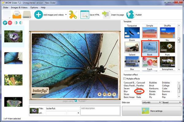 CSS3 image rotator